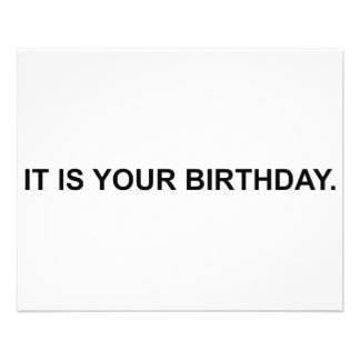 C'est votre anniversaire prospectus 11,4 cm x 14,2 cm