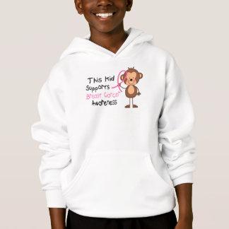 Cet enfant soutient la conscience de cancer du