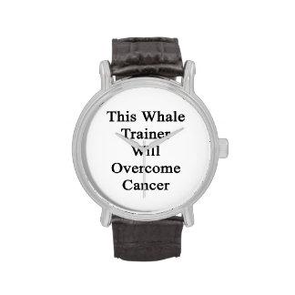 Cet entraîneur de baleine surmontera le Cancer Montres