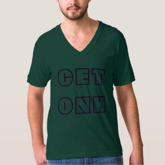 CETONH - Le V vert des hommes - pièce en t de cou T-shirts