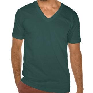 CETONH - Le V vert des hommes - pièce en t de cou T-shirt