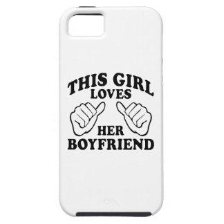 Cette fille aime son ami - iPhone 5 cas Étuis iPhone 5