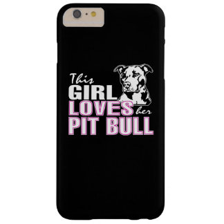 Cette fille aime son PITBULL Coque Barely There iPhone 6 Plus