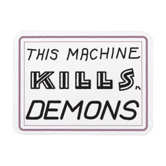 Cette machine tue l'aimant de démons magnets rectangulaire