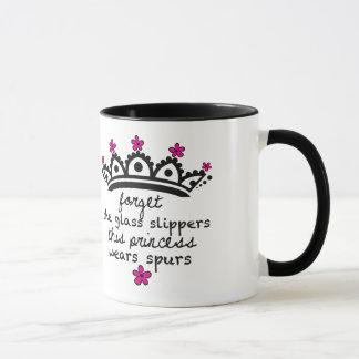 Cette princesse Wears Spurs- Mug