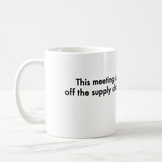 Cette réunion est outre de la chaîne mug