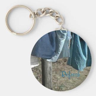 Ceux-ci apaisent la corde à linge de mars de sais porte-clefs