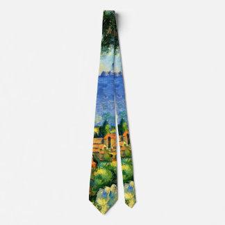 Cezanne - vue de l'Estaque Cravate