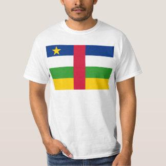 CF de drapeau de la république centrafricaine T-shirts
