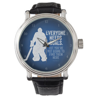 Chacun a besoin de buts (l'hockey) montres