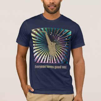 Chacun aime le bon saxo ! t-shirt