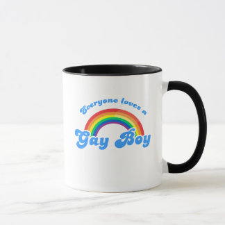 Chacun aime un garçon gai mug
