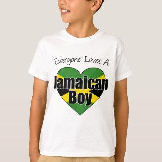 Chacun aime un garçon jamaïcain t-shirt