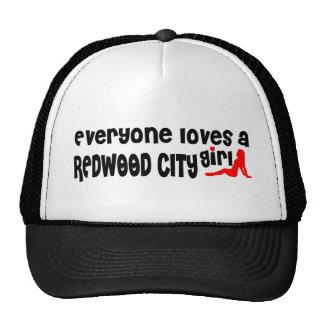 Chacun aime une fille de Redwood City Casquette De Camionneur