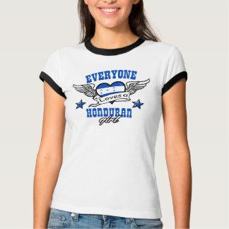 Chacun aime une fille hondurienne t-shirt
