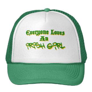 Chacun aime une fille irlandaise casquette trucker