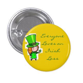 Chacun aime une jeune fille irlandaise badge