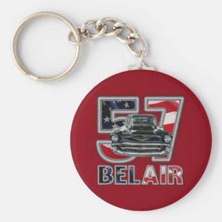 Chaîne 1957 principale de Chevy Belair Porte-clés