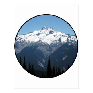 Chaîne de montagne carte postale