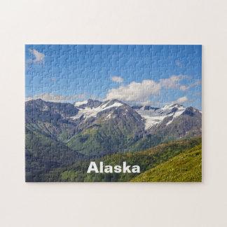 Chaîne de montagne de Chugach de l'Alaska Puzzle