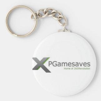 Chaîne v1 de XPGamesaves Porte-clé Rond