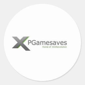 Chaîne v1 de XPGamesaves Sticker Rond
