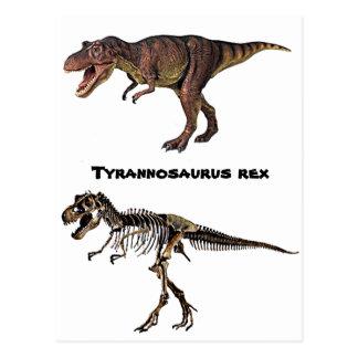 Chair-n-Os de T-rex, carte postale