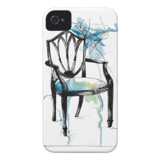 Chaise de Hepplewhite - aquarelle Coque Case-Mate iPhone 4