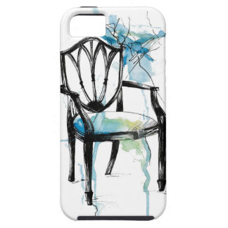 Chaise de Hepplewhite - aquarelle Coque iPhone 5 Case-Mate