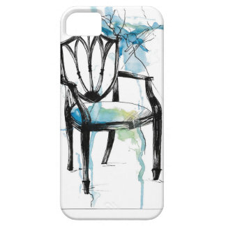 Chaise de Hepplewhite - aquarelle Étui iPhone 5