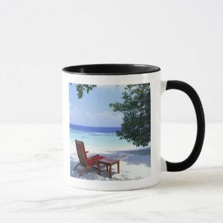 Chaise de plage mug
