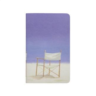 Chaises sur la plage 1995 carnet de poche