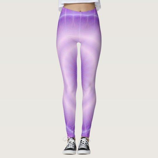 Chakra Energy (& clignote violet) Leggings