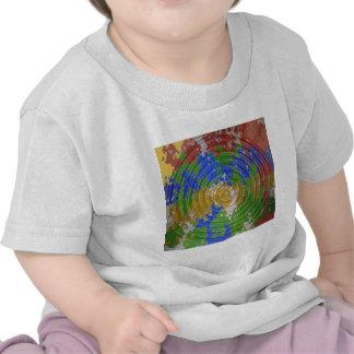 CHAKRA multicolore : Énergie de roue de nature T-shirt
