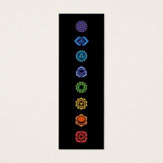 chakras classiques mini carte de visite