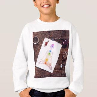 chakras et équilibre sweatshirt