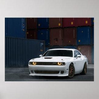Challengeur SRT de Dodge Poster