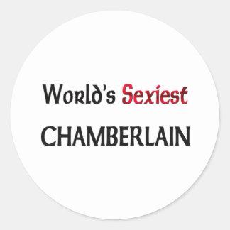 Chamberlain le plus sexy du monde sticker rond
