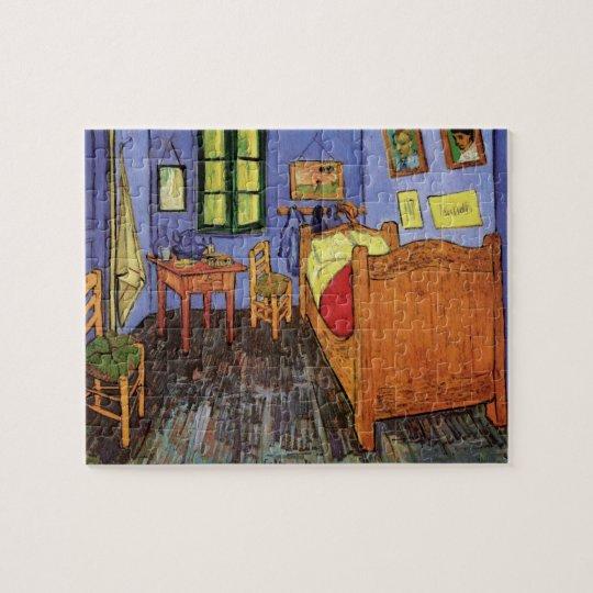Chambre à coucher de Van Gogh Vincent dans Arles, Puzzle