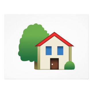 Chambre avec l'arbre - Emoji Prospectus 21,6 Cm X 24,94 Cm