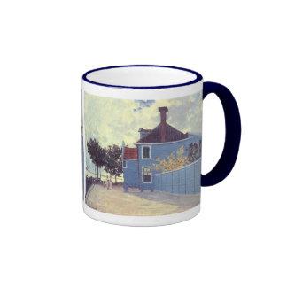Chambre bleue Zaandam, Monet, impressionisme Mug Ringer