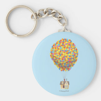 Chambre de ballon de Disney Pixar VERS LE HAUT de Porte-clé Rond