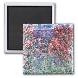 Chambre de Claude Monet   chez Giverny sous les Aimant