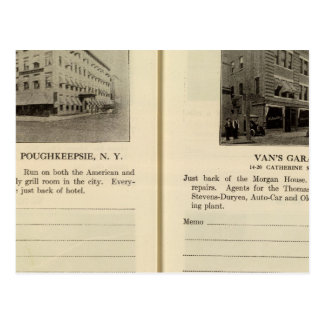 Chambre de Morgan, le garage de Van, Poughkeepsie Carte Postale
