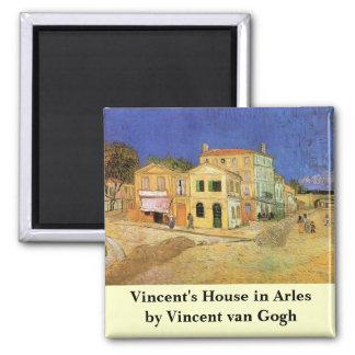 Chambre de Van Gogh Vincent dans Arles, beaux-arts Magnet Carré
