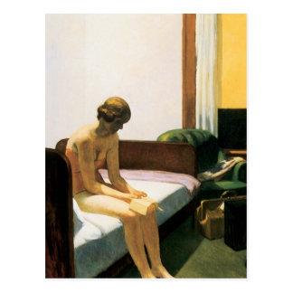 Chambre d'hôtel d'Edward Hopper Carte Postale