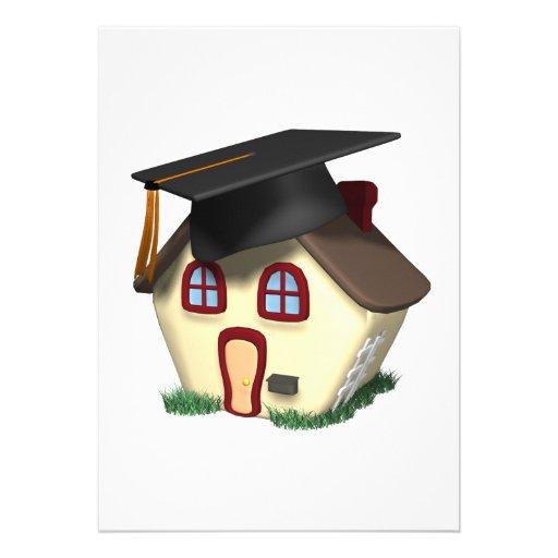 Chambre d'obtention du diplôme invitations