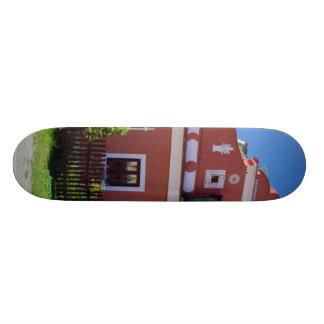 Chambre du sud traditionnelle de la Bohême Plateaux De Skateboards Customisés