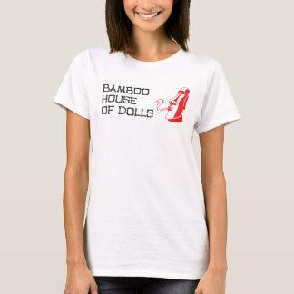 Chambre en bambou de dessus des spaghetti des t-shirt