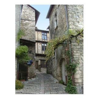 Chambre Enimie, France. carte postale